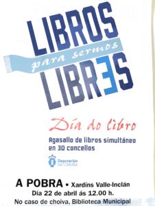 cartel Libros para sermos Libres