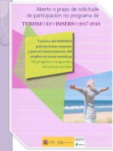 CARTEL TURISMO IMSERSO 2017-18