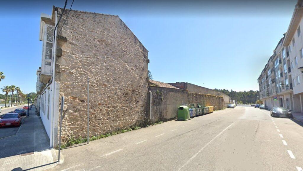 Rúa á que se trasladou o colector